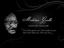 famous mahatma gandhi father of nation quotes on success hd