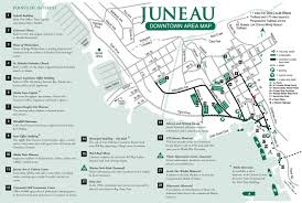 Alaska State Map by A Very Good Map Of Dowtown Juneau To Plan Your Visit Juneau