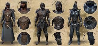 elder scrolls online light armor sets ready for war orc and redguard armor the elder scrolls online