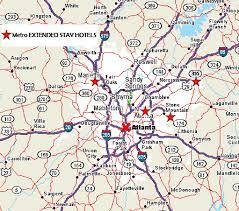 map of atlanta metro area atlanta metro map with cities archives travel map vacations