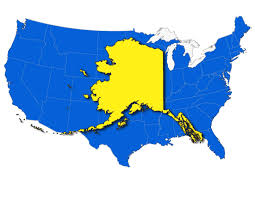 united states of america map with alaska and hawaii map of usa showing alaska maps of usa united states of america