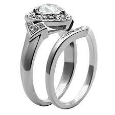 titanium engagement rings images His hers 3 pcs wedding engagement ring set titanium matching jpg
