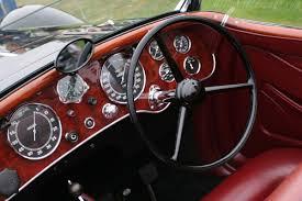alfa romeo 8c 2900b touring spider interior in 2 motorsports