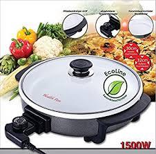 poele electrique cuisine poele electrique multi cuiseur en ceramique 1500 watts amazon fr