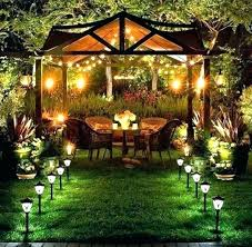 Solar Patio Lighting Solar Patio String Umbrella Lights Fooru Me