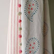 White Curtains With Pom Poms Decorating Curtains With Pom Poms Designs With Top 25 Best Pom Pom