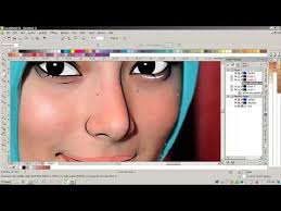 tutorial corel draw menggambar kartun tutorial vector corel draw menggambar foto ke vector by anwar