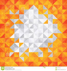 triangle mosaic background with soft texture royalty free stock