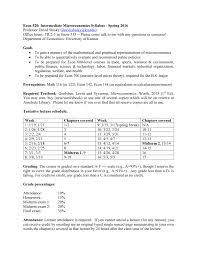 econ 520 intermediate microeconomics syllabus