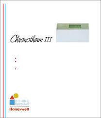 handleiding honeywell chronotherm iii pagina 1 van 31 nederlands