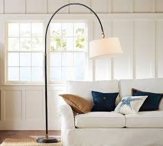 winslow arc sectional floor lamp pottery barn great for family