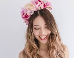 flower headpiece floral headpieces inspired by the beauty of nature by kisforkani