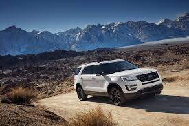 2017 ford explorer reviews and rating motor trend