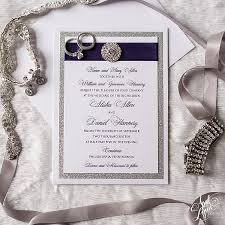 purple and silver wedding invitations alisha dan s purple foil and silver glitter wedding