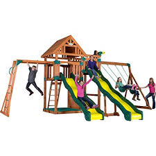 Metal Backyard Playsets The Top 50 Safest Backyard Swing Sets Safety Com