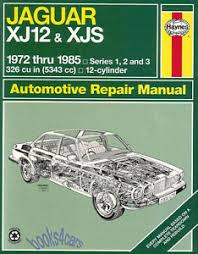 jaguar xjs repair manual ebay