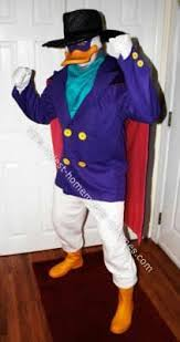 Donald Daisy Duck Halloween Costumes Homemade Dw Costume Darkwing Duck