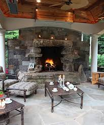 Outdoor Fireplaces And Firepits Outdoor Fireplaces Pits In Mclean Great Falls Va