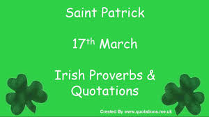 proverbs quotes st patricks day
