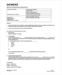 sample service contract agreement forms 6 free documents in
