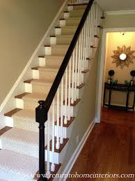 Painting A Banister Black Choosing A Stair Runner Some Inspiration And Lessons Learned