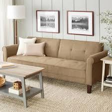 brown microfiber sofa bed 10 spring street ashton microfiber sofa bed multiple colors