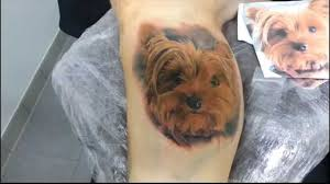 terrier tattoo excess tattoo yorkshire portrait by kimber youtube