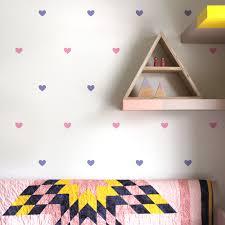 heart wall decals feelin it decals girl s nursery decals feelin it decals mini hearts 3