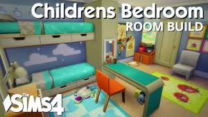 children room design the sims 4 room build childrens bedroom youtube