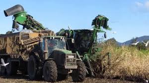 john deere ch570 sugar cane harvester youtube