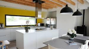 cuisine fait maison ilot central fait maison with contemporain jardin décoration de la