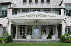 Roof Mounted Retractable Awning Retractable Awnings For Architects Westchester County Ny