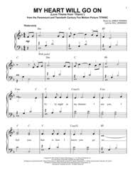 film titanic music download download my heart will go on love theme from titanic sheet music