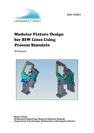 modular fixture design for biw lines using process simulate pdf