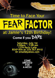 fear factor halloween party ideas fear factor party invitation editable u2013 partygamesplus
