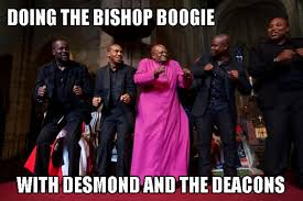Episcopal Church Memes - anglican humour on twitter desmond and the deacons get on down