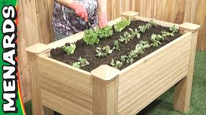 How To Make A Raised Vegetable Garden by Raised Garden Bed Plans With Legs Gardening Ideas