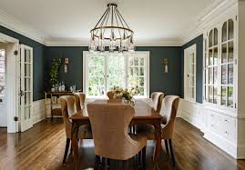 Dining Room Paint Ideas With Chair Rail Two Tone Dining Room Colors Bathroomstall Org
