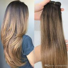 balayage hair extensions 2 6 human hair extensions balayage highlights brown human