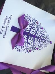 handmade christmas card tree handmade cards pink u0026 posh