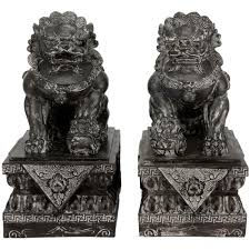 pictures of foo dogs furniture 18 in sitting foo dog decorative statues sta