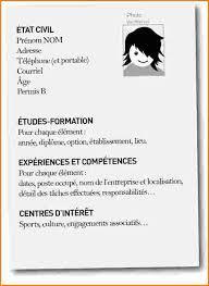 11 Exemple De Cv 3eme Modele De Cv Pour Debutant Sans Experience Contrat De Travail 2018