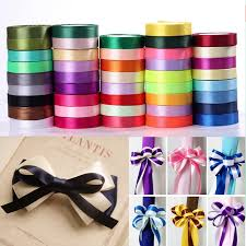 silk satin ribbon 22m silk satin ribbon 10mm wide party home wedding decoration