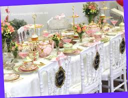 high tea kitchen tea ideas vintage mixed china place settings for a wedding vintage high