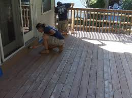 different choices of deck paint