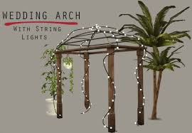 wedding arches sims 3 lighted wedding arch at leo sims sims 4 updates decor sims 4