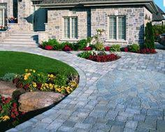 garden by driveway garden ideas driveways and paving with the