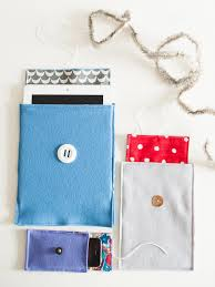 how to make a felt cover for a smart phone or tablet hgtv
