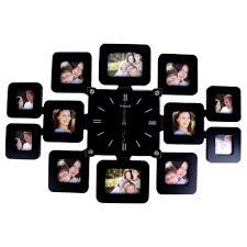 photo frame wall clock online wall clocks decoration