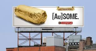 gold foil wrap chipotle to wrap 35 million burritos in gold foil adpulp